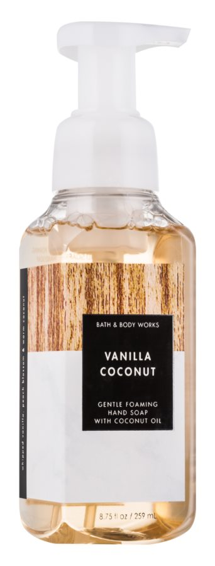 Bath & Body Works Vanilla Coconut Sapun spuma pentru maini