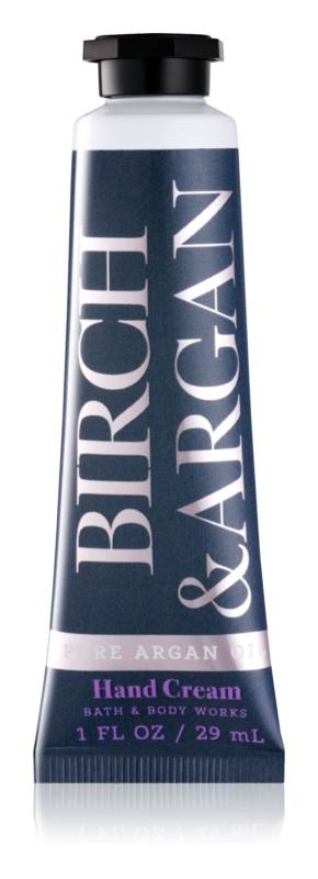 Bath & Body Works Birch & Argan crème mains