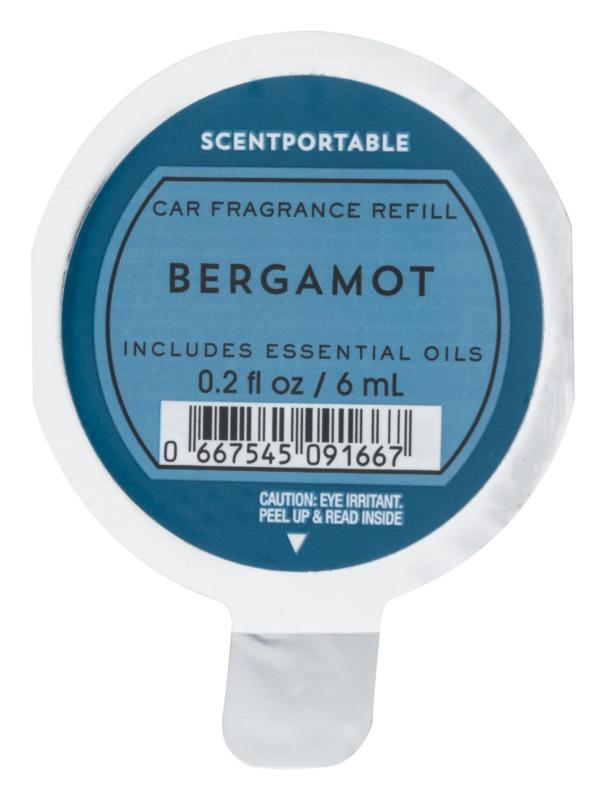 Bath & Body Works Bergamot vôňa do auta 6 ml