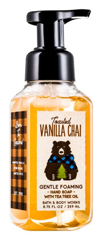 Bath & Body Works Toasted Vanilla Chai schuimzeep voor de handen