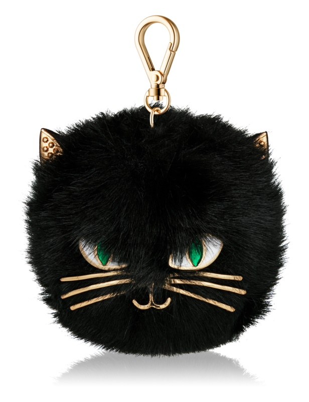 Bath & Body Works PocketBac Furry Black Cat Silikonhülle für antibakterielles Gel