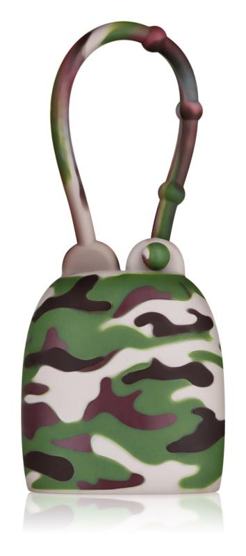 Bath & Body Works PocketBac Camouflage silikónový obal na gél na ruky