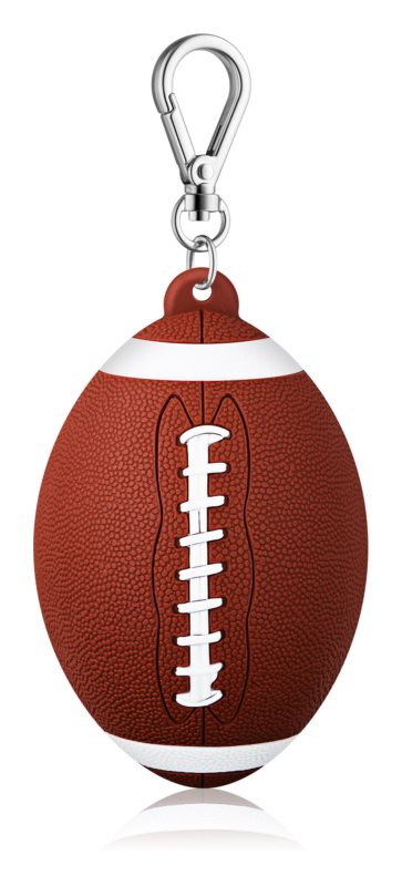 Bath & Body Works PocketBac Football Silicone Hand Gel Packaging