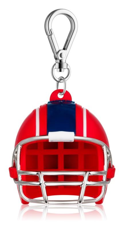 Bath & Body Works PocketBac Red White Blue Football Helmet housse de silicone pour le gel pour les mains
