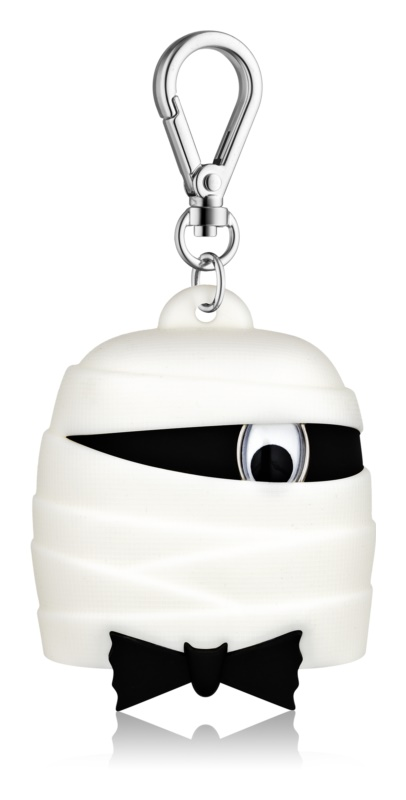 Bath & Body Works PocketBac Black Tie Mummy ambalaj din silicon pentru gelul de mâini