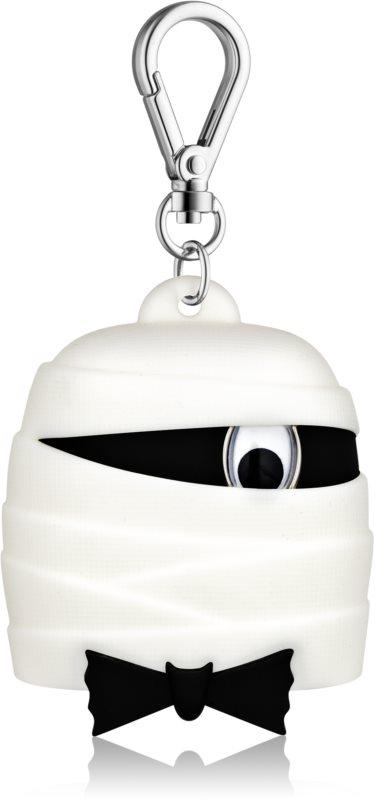Bath & Body Works PocketBac Black Tie Mummy silikonový obal pro gel na ruce