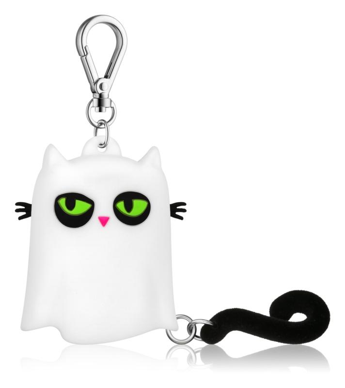 Bath & Body Works PocketBac Ghost Kitty opakowanie silikonowe na żel antybakteryjny