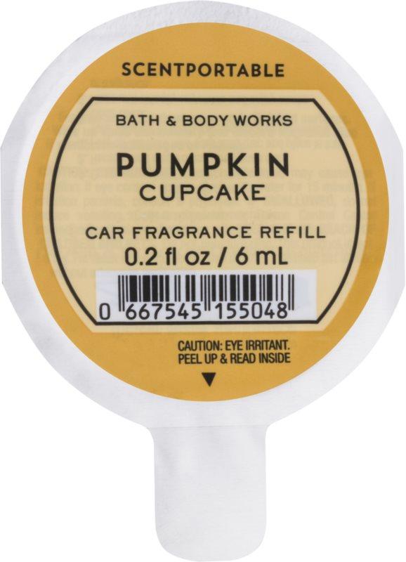 Bath & Body Works Pumpkin Cupcake aроматизатор за автомобил 6 мл. резервен пълнител