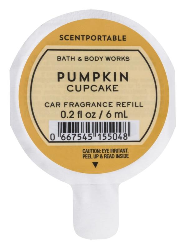 Bath & Body Works Pumpkin Cupcake dišava za avto 6 ml nadomestno polnilo