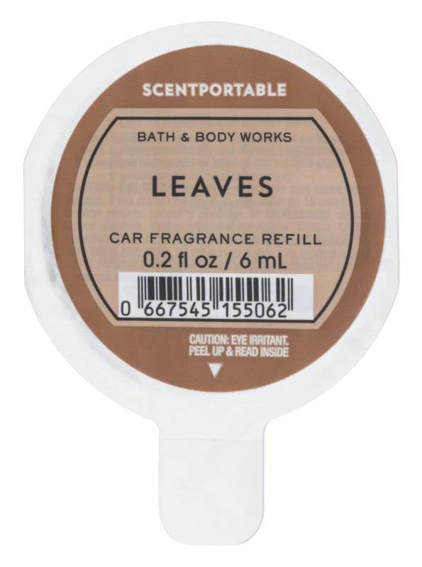 Bath & Body Works Leaves Deodorante per auto 6 ml ricarica