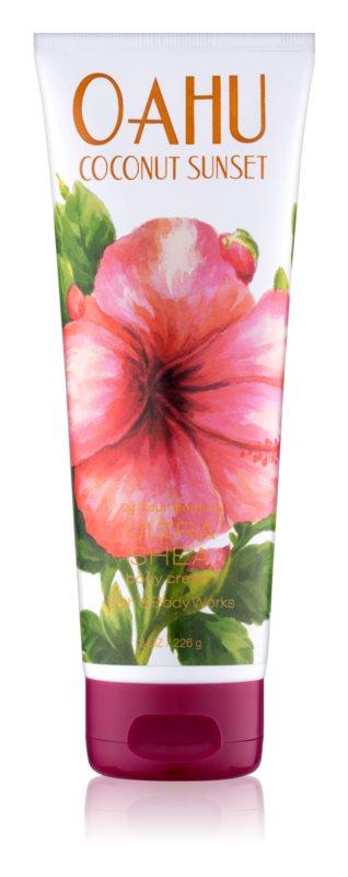 Bath & Body Works Oahu Coconut Sunset krema za telo za ženske 226 g