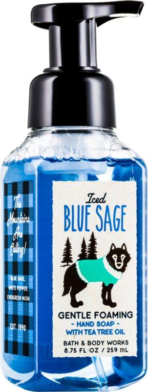 Bath & Body Works Iced Blue Sage savon moussant pour les mains