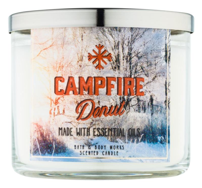 Bath & Body Works Camp Winter Campfire Donut illatos gyertya  411 g