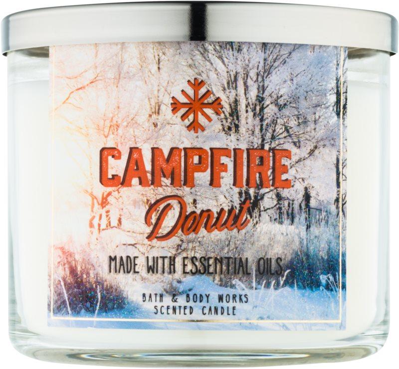 Bath & Body Works Camp Winter Campfire Donut lumanari parfumate  411 g