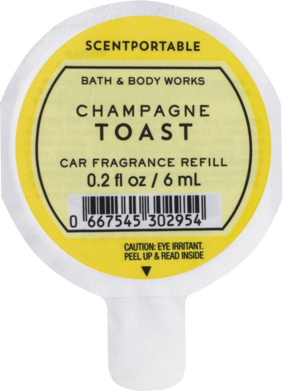 Bath & Body Works Champagne Toast vůně do auta 6 ml náhradní náplň
