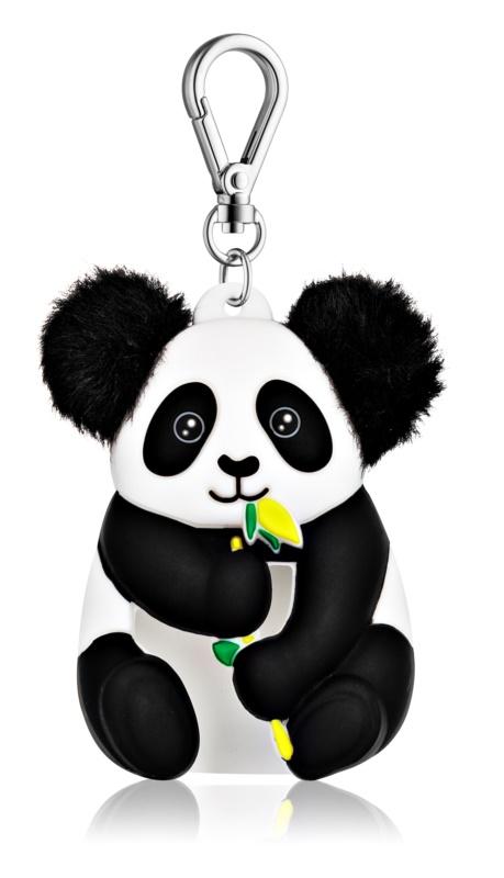 Bath & Body Works PocketBac Panda svietiaci silikónový obal na antibakteriálny gél