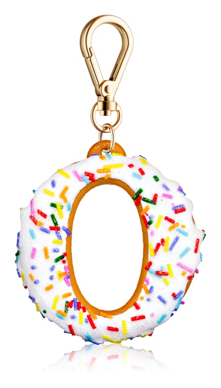 Bath & Body Works PocketBac Donut with Sprinkles Silicone Hand Gel Packaging