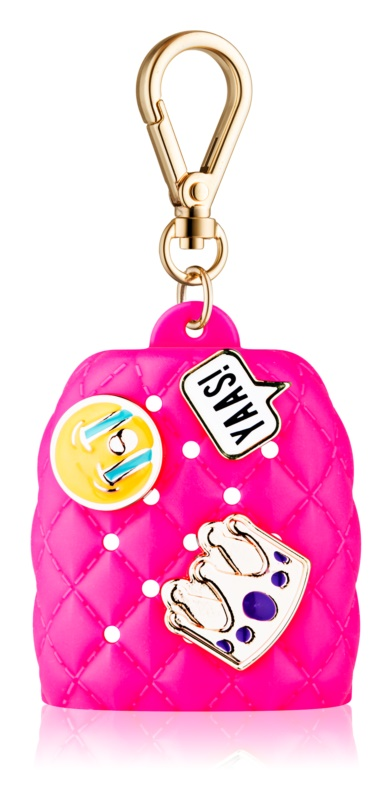 Bath & Body Works PocketBac Emoji Charms Silicone Hand Gel Packaging