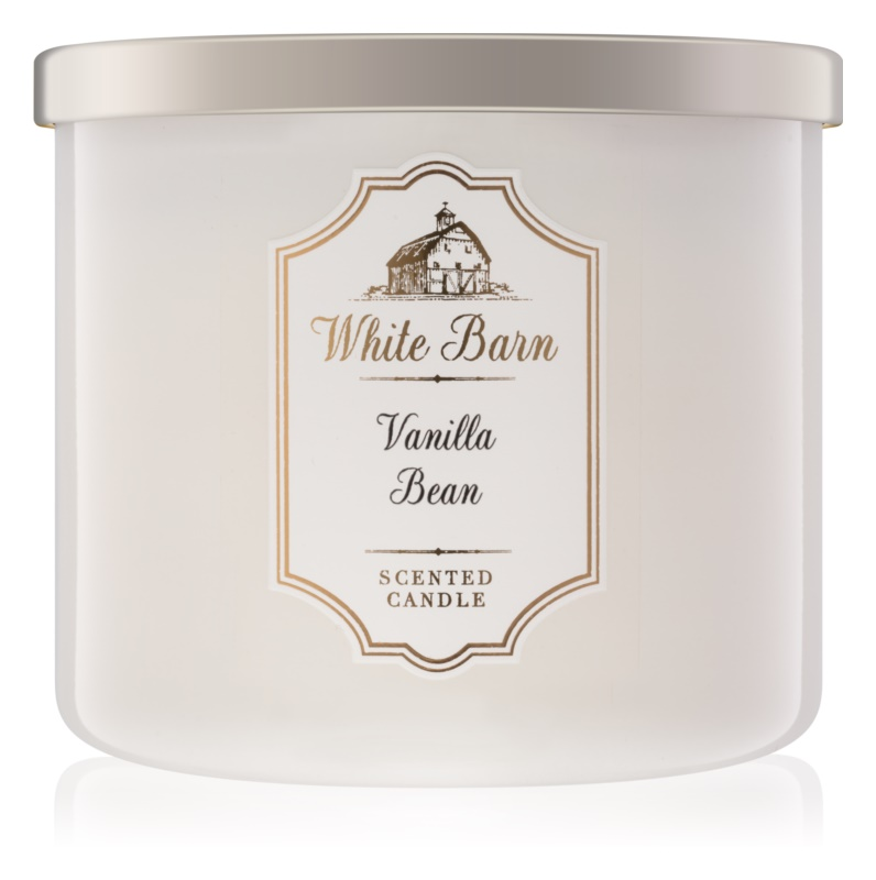 Bath & Body Works Vanilla Bean vonná svíčka 411 g