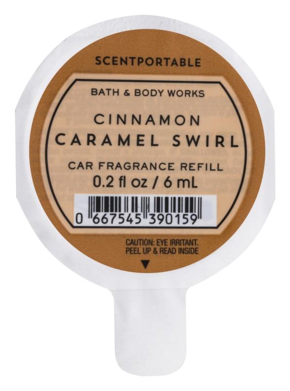 Bath & Body Works Cinnamon Caramel Swirl illat autóba 6 ml utántöltő