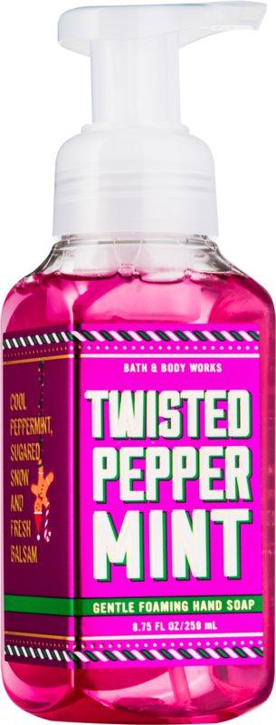 Bath & Body Works Twisted Peppermint Sapun spuma pentru maini