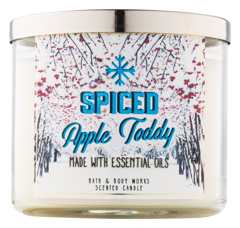 Bath & Body Works Camp Winter Spiced Apple Toddy Geurkaars 411 gr