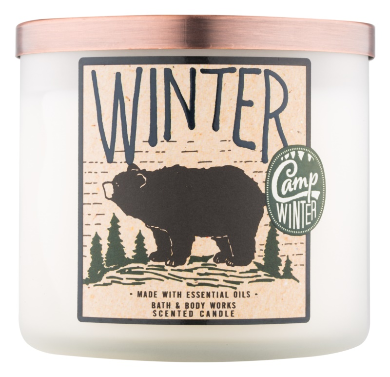 Bath & Body Works Camp Winter Winter vonná sviečka 411 g