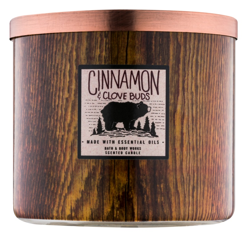 Bath & Body Works Cinnamon & Clove Buds ароматна свещ  411 гр.