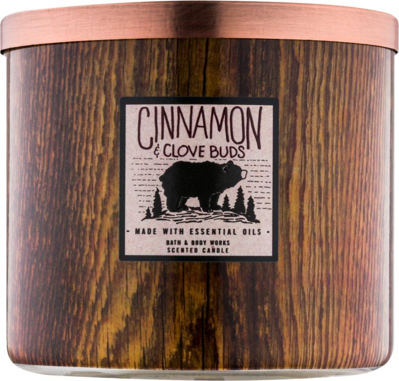 Bath & Body Works Cinnamon & Clove Buds illatos gyertya  411 g