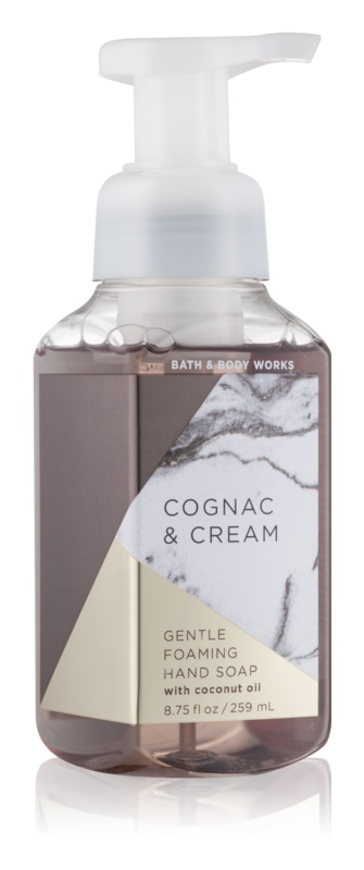 Bath & Body Works Cognac & Cream hab szappan kézre