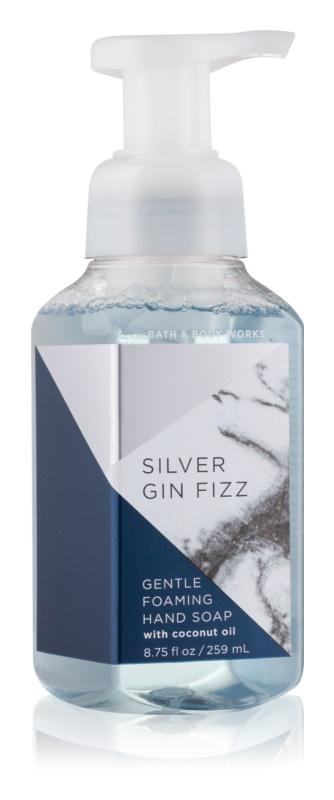 Bath & Body Works Silver Gin Fizz hab szappan kézre