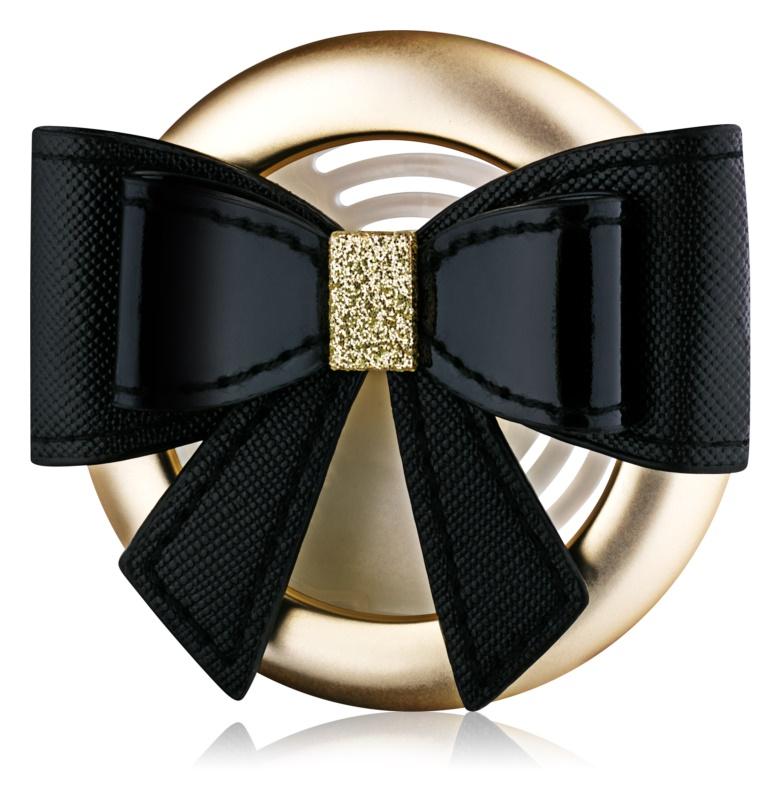Bath & Body Works Black Tie Bow Auto-Dufthalter   Clip
