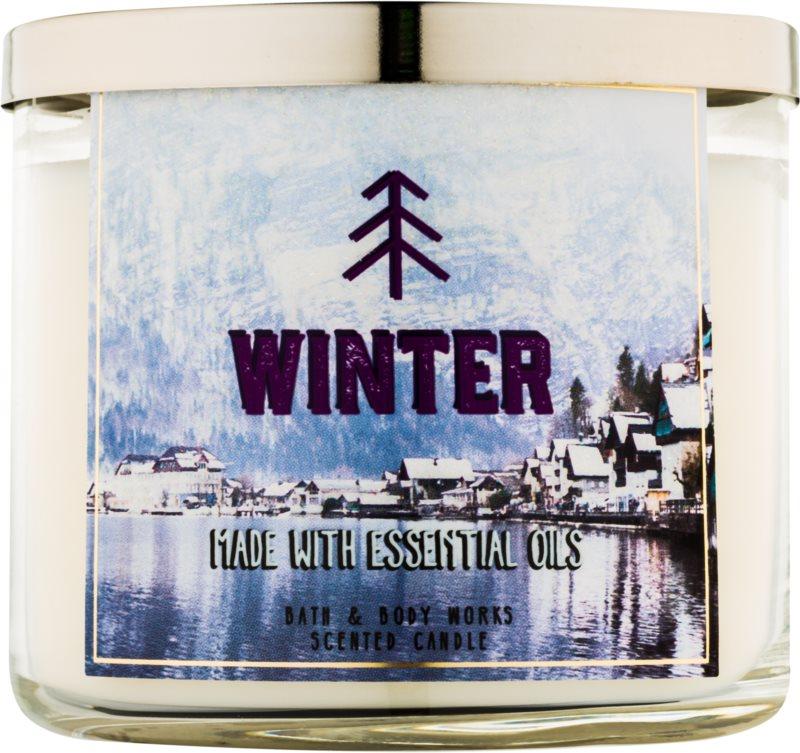 Bath & Body Works Winter Duftkerze  411 g