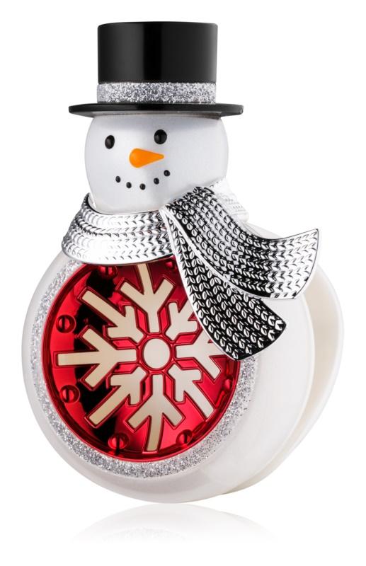Bath & Body Works Snowman Houder voor auto luchtverfrisser   ophangbaar