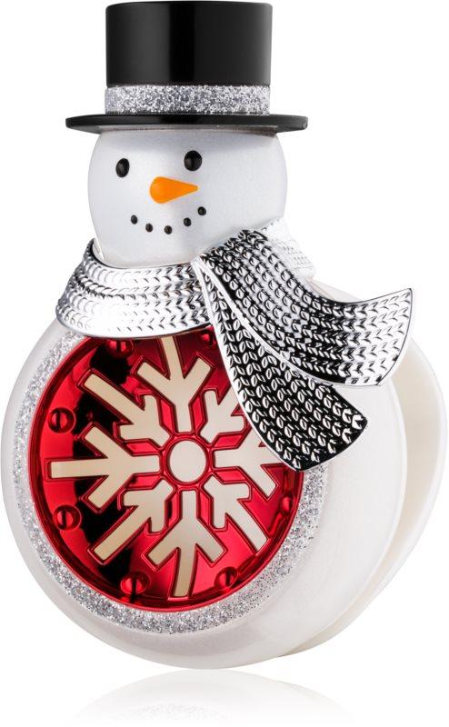 Bath & Body Works Snowman supporto per deodoranti per auto   da appendere