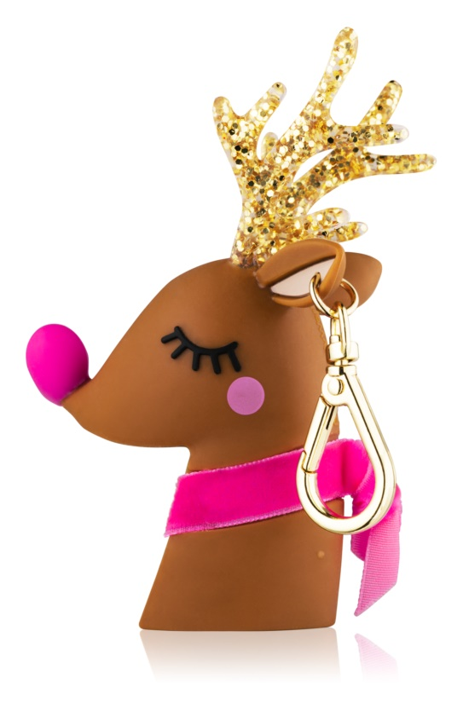 Bath & Body Works PocketBac Light-Up Reindeer Hand Gel Packaging with Light