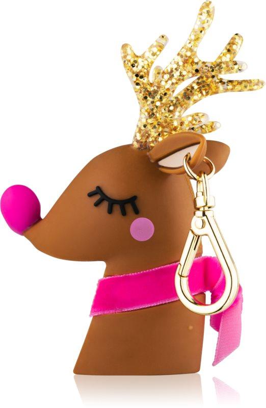 Bath & Body Works PocketBac Light-Up Reindeer świecący futerał na żel do rąk