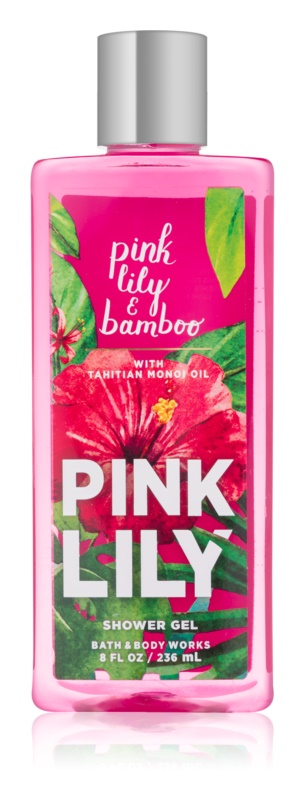 Bath & Body Works Pink Lily & Bambo gel douche pour femme 236 ml