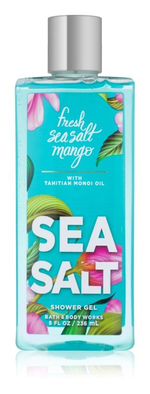 Bath & Body Works Fresh Sea Salt Mango sprchový gél pre ženy 236 ml