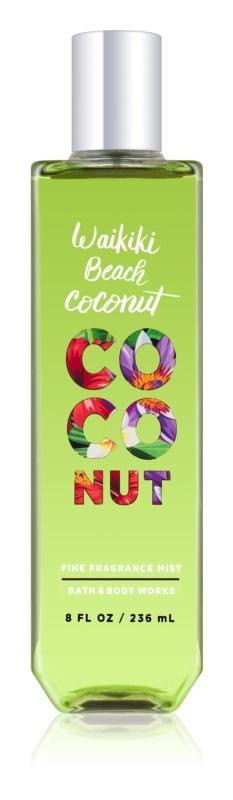 Bath & Body Works Waikiki Beach Coconut Bodyspray  voor Vrouwen  236 ml