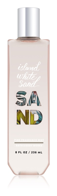 Bath & Body Works Island White Sand spray corpo per donna 236 ml