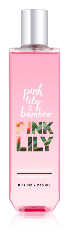 Bath & Body Works Pink Lily & Bambo tělový sprej pro ženy 236 ml