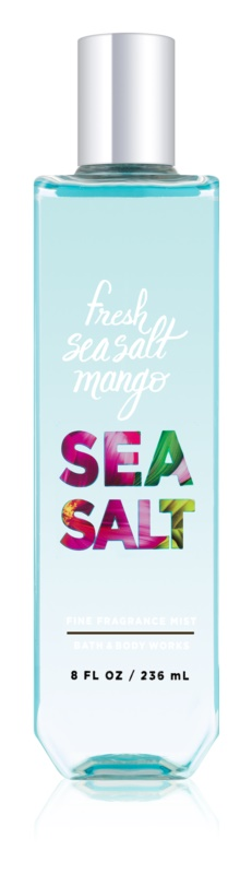 Bath & Body Works Fresh Sea Salt Mango telový sprej pre ženy 236 ml