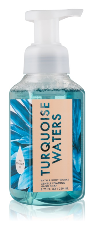 Bath & Body Works Turquoise Waters hab szappan kézre
