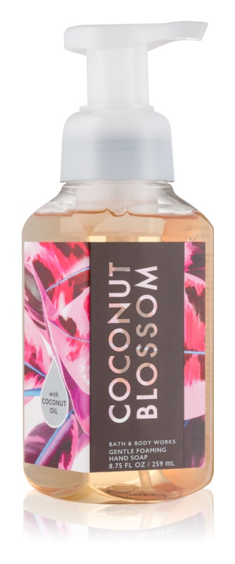 Bath & Body Works Coconut Blossom hab szappan kézre