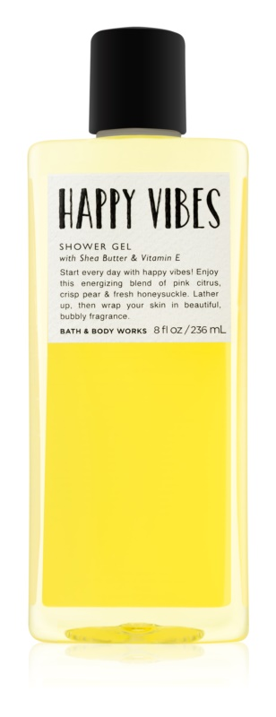 Bath & Body Works Happy Vibes Shower Gel for Women 236 ml
