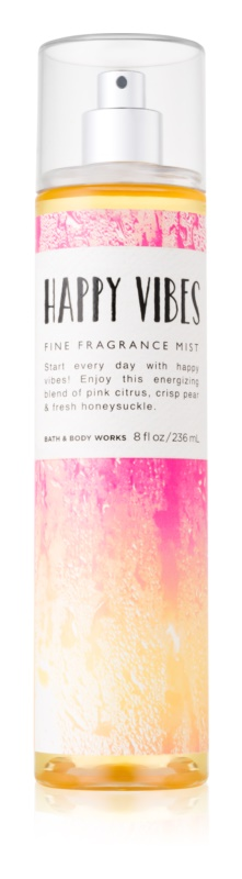 Bath & Body Works Happy Vibes tělový sprej pro ženy 236 ml