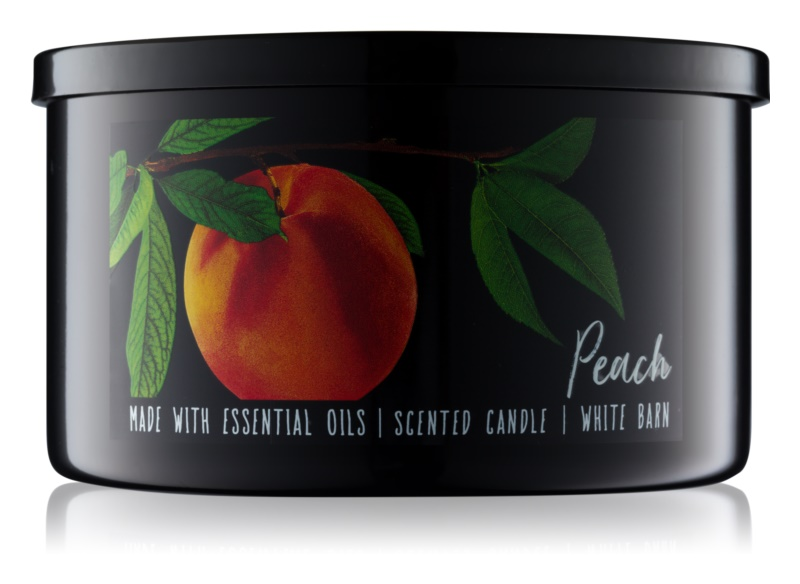 Bath & Body Works Peach vonná svíčka 411 g
