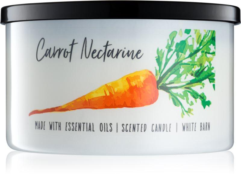 Bath & Body Works Carrot Nectarine vonná svíčka 411 g