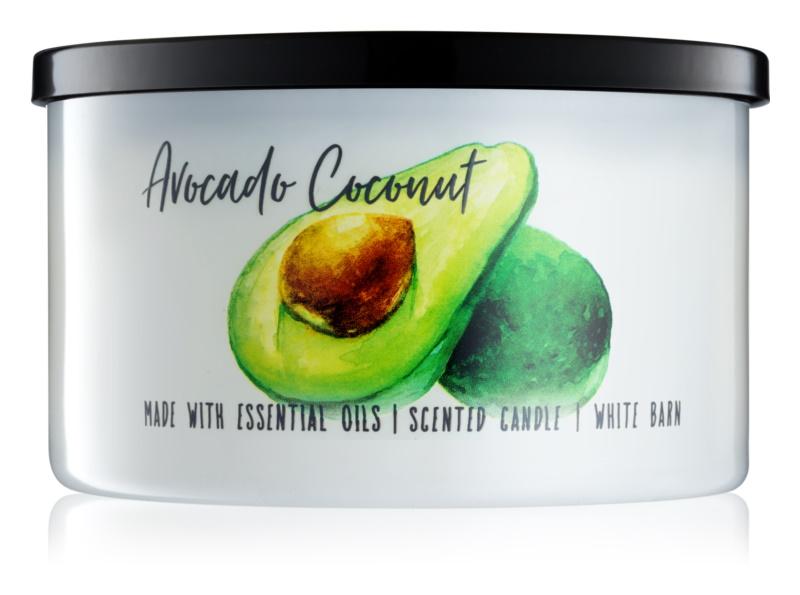 Bath & Body Works Avocado Coconut vonná sviečka 411 g